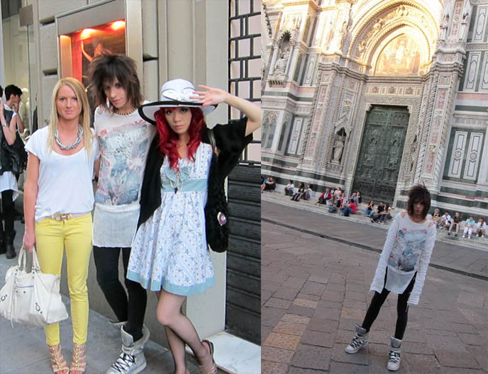 La Carmina Wearing Gloomth In Italy Gloomth The Cult Of Melancholy