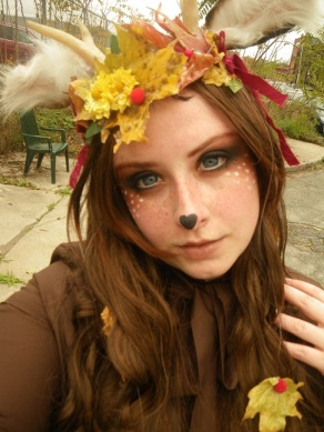 deer fawn makeup gloomth