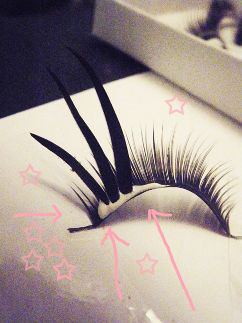 diy custom fake eyelashes