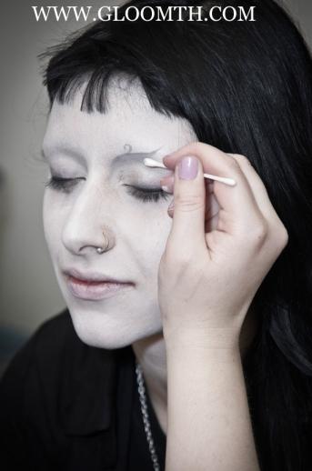 shironuri makeup