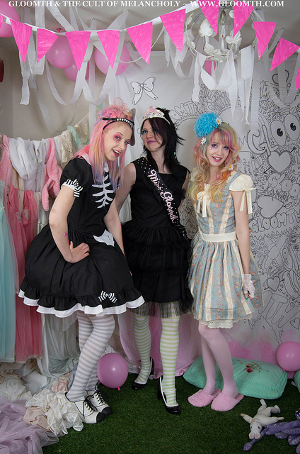gloomth candy dream prom party