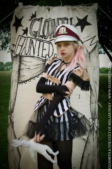 goth circus vest