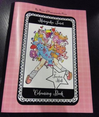harajuku tarot deck coloring book