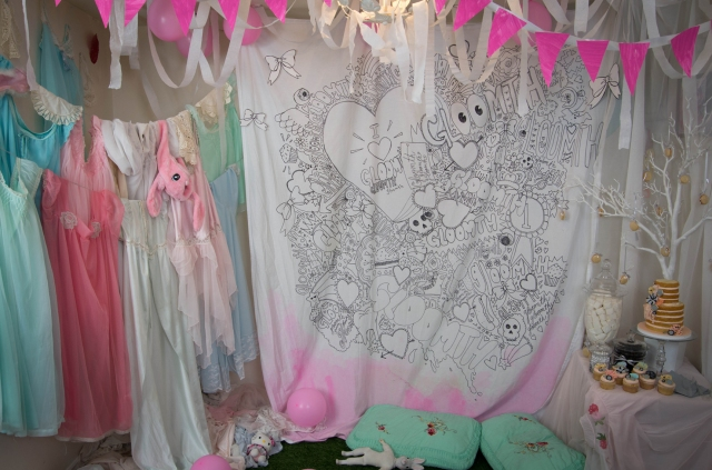 gloomth candy dream prom set