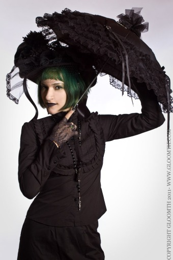 gothic victorian blouse