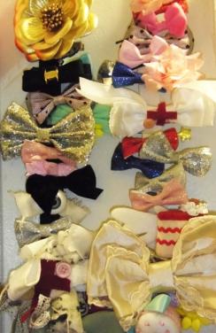 lolita hair clip storage