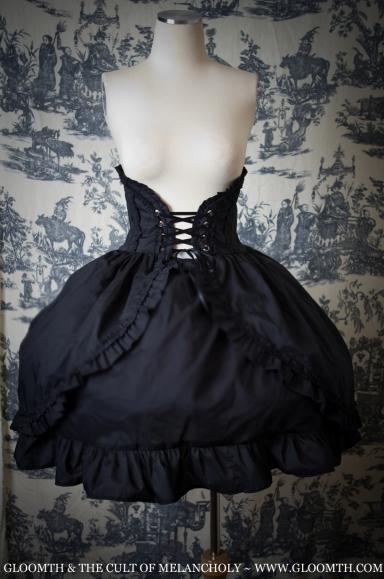 corset skirt gothic goth