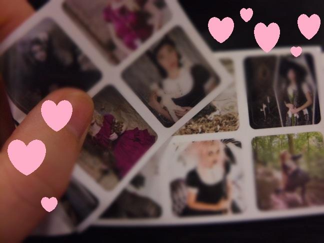 moo mini stickers
