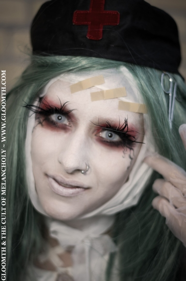 shironuri makeup
