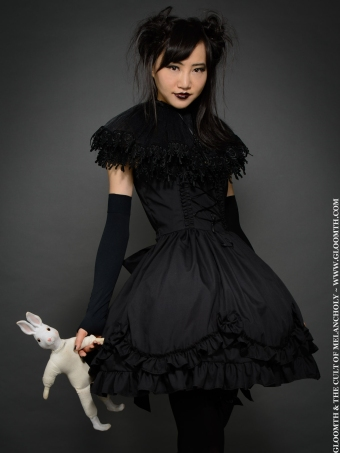 gloomth gothic corset dress