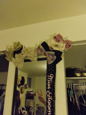 lolita hair bow storage