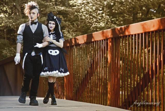 skeleton dress by gloomth