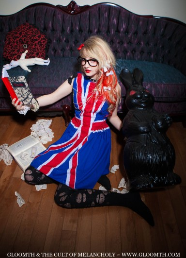 union jack dress gloomth