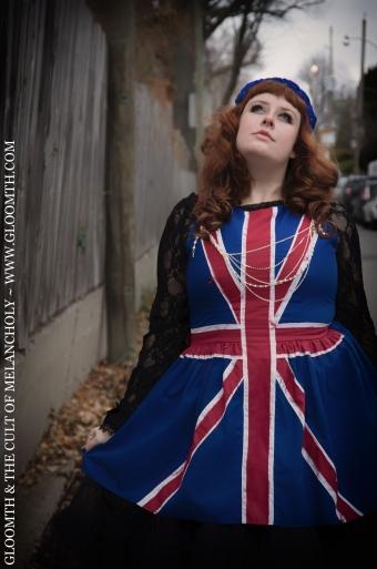 union jack flag dress