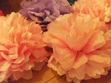 tissue paper flowers how to
