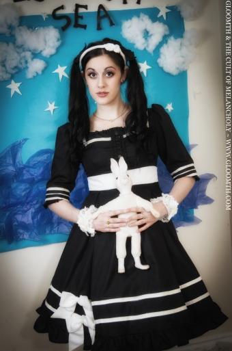 retro sailor dress