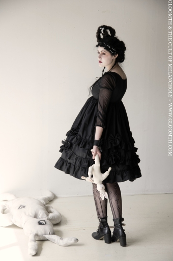 gothic lolita dress by gloomth