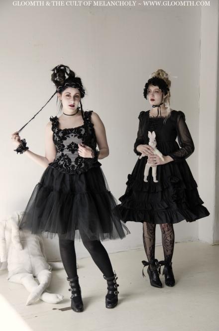 gothic tutu skirt by gloomth