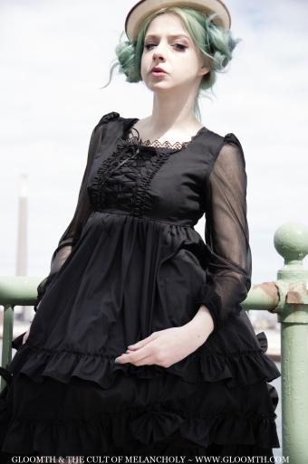 gothic lolita babydoll dress by gloomth