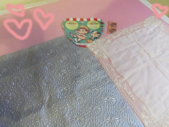 diy collage table makeup table