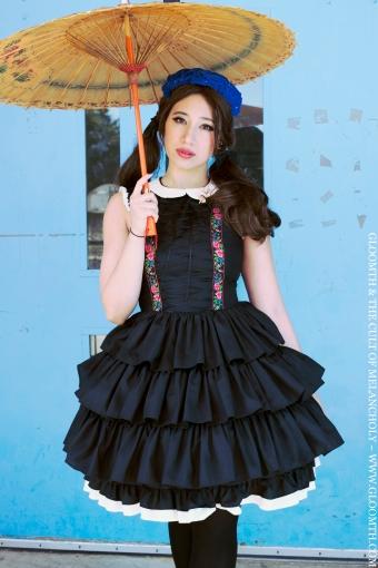 retro lolita fashion gloomth