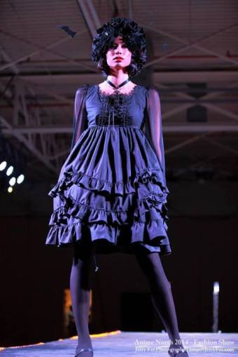 anime north gloomth fashion show 2014