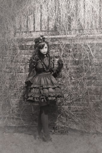 victorian mourning by gloomth dress handmade