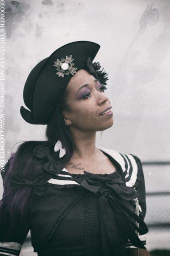 sailor collar gothic lolita