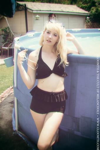 goth swimwear gloomth