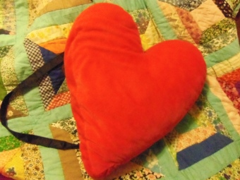 heart shaped backpack tutorial diy how to