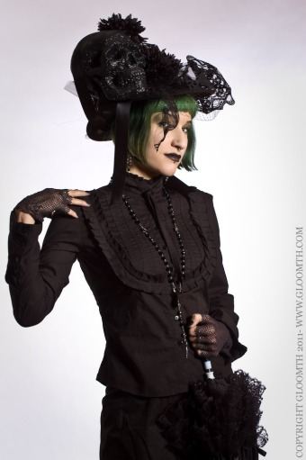 gothic victorian blouse gloomth