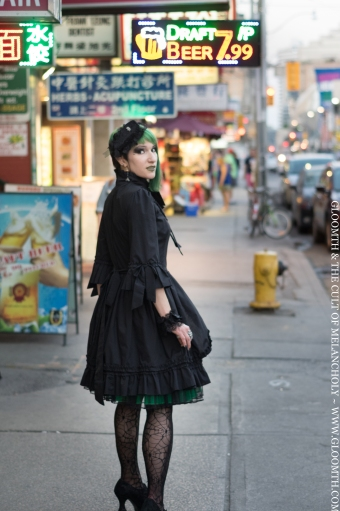 gothic fashion toronto gloomth