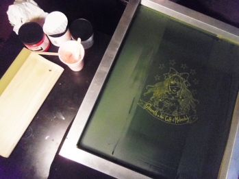 gloomth screen print