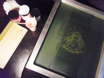 gloomth screen print