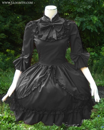 gothic victorian dress gloomth