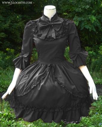 gothic victorian dress gloomth
