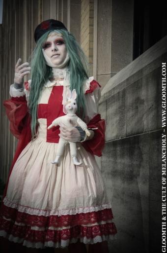 gothic nurse halloween gloomth