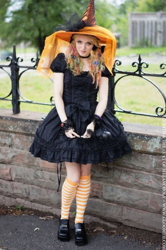 halloween witch outfit by gloomth