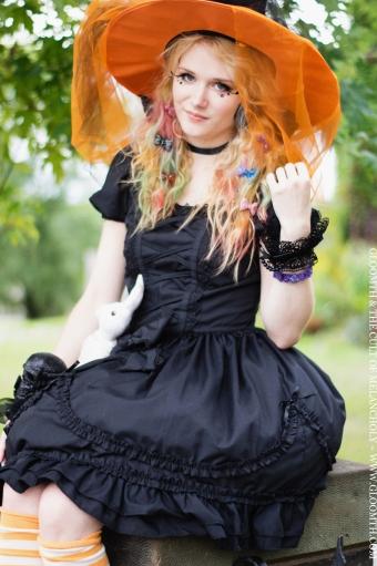 halloween witch cute kawaii gloomth