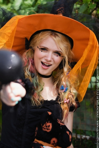 magic teen witch gloomth halloween