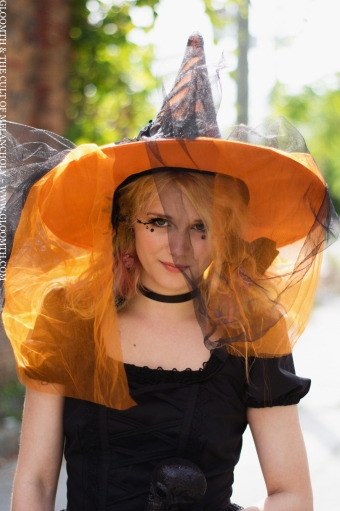 halloween candy witch costume by gloomth