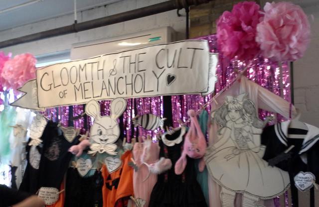 bazaar of bizarre toronto 2014 gloomth booth