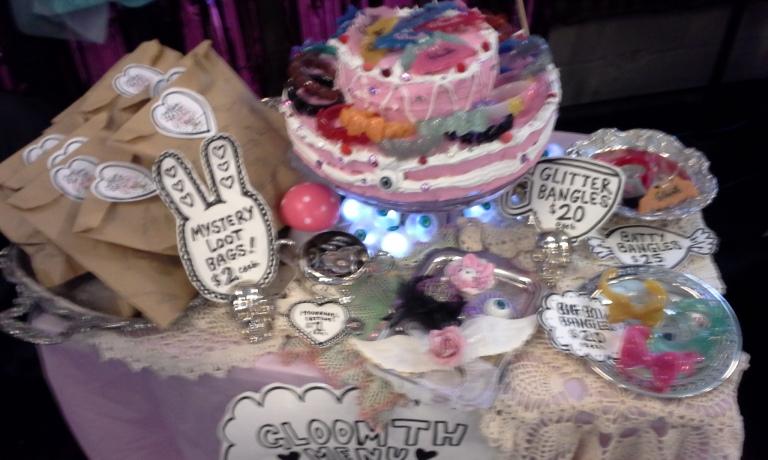 gloomth bazaar of bizarre cake