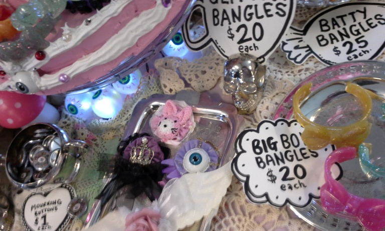 bazaar of bizarre toronto october 2014 gloomth booth