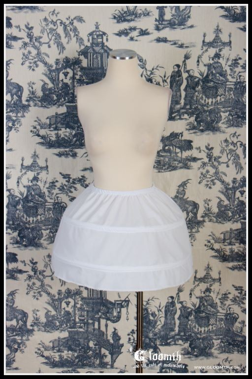 hoop petticoat bell shape cupcake lolita