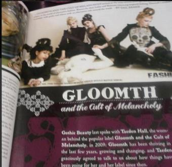 gothic beauty magazine gloomth issue 45