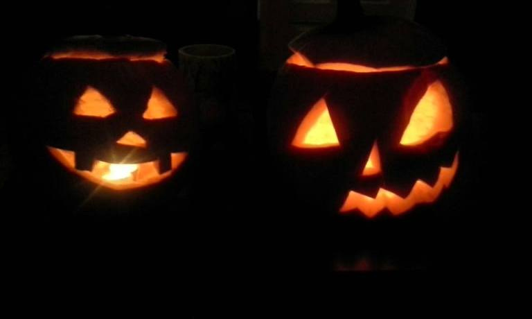lazy jack o lantern pumpkins