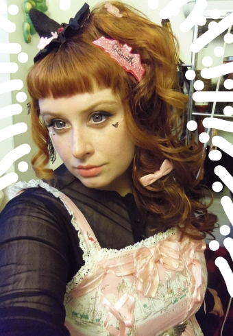 taeden lolita pink witch baby the stars shine bright halloween alice jsk ハロウィンアリス柄ジャンパースカート