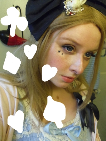 alice wonderland costume makeup