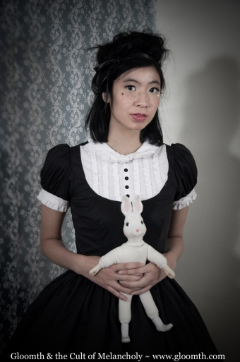 lolita dress tuxedo style collar